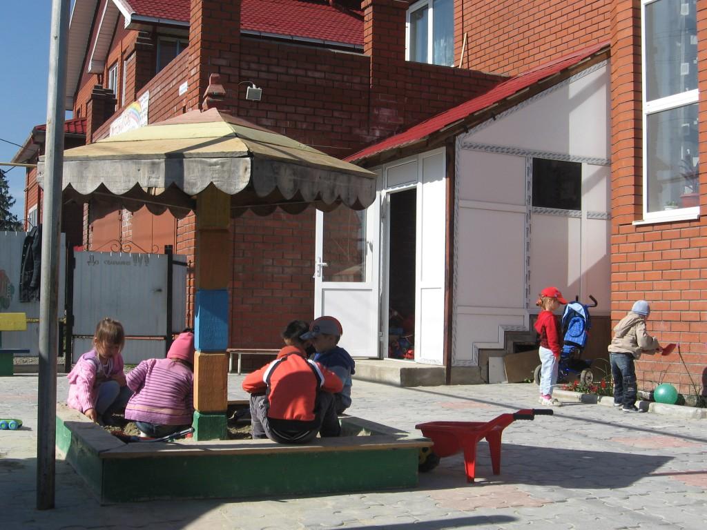 Мини-садик Даня, детская площадка